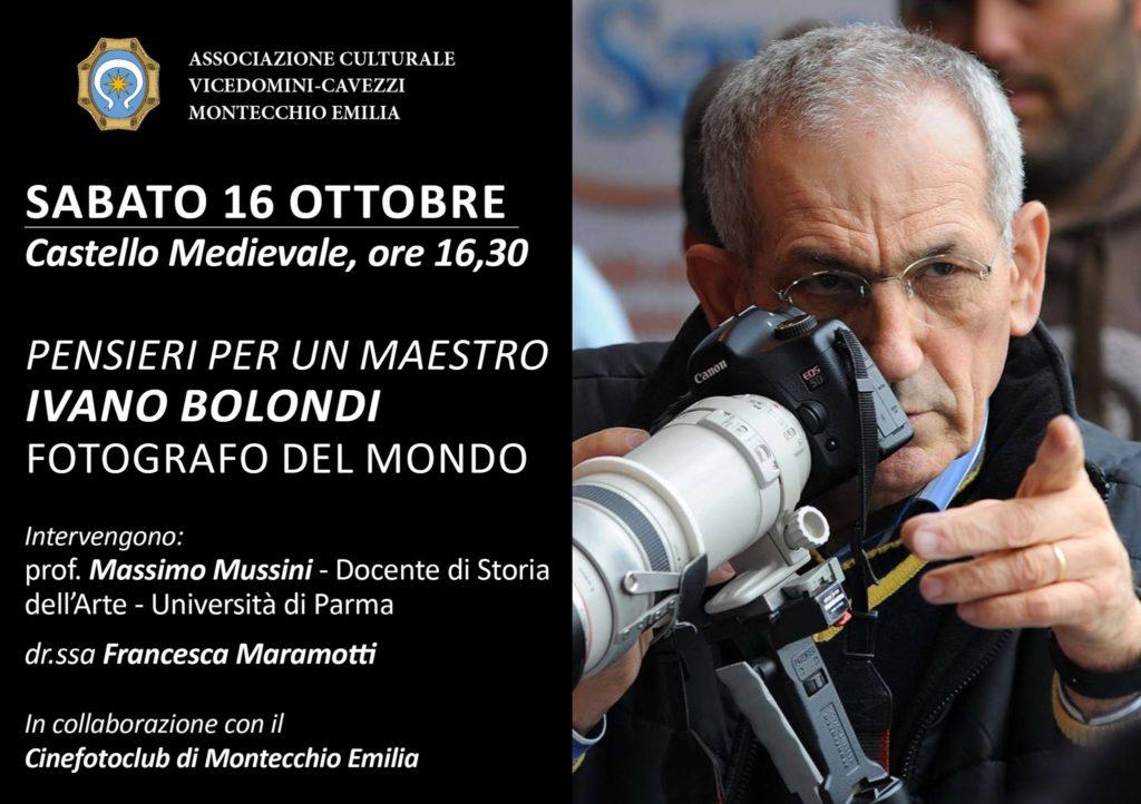 Pensieri per un maestro: Ivano Bolondi fotografo del mondo